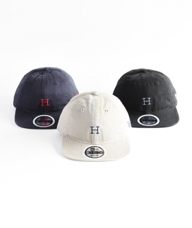 NEW ERA×HOLLYWOOD RANCH MARKET (ニューエラ×ハリウッドランチマーケット) H EMBROIDERY PACKABLE VISOR CAP【MENS&WOMENS】