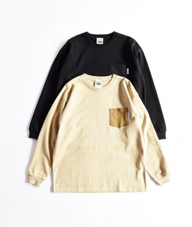 MT.RAINIER DESIGN(マウントレイニアデザイン) MRD ORIGINAL POCKET MAXWEIGHT LS TEE【MENS】