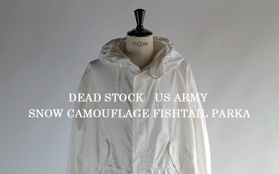 US ARMY SNOW CAMO PARKA