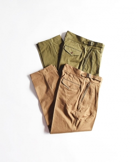 KABEL (カベル) GURUKA TROUSERS TYPEⅡ【MENS】