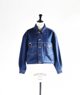 PRISON BLUES (プリズンブルース) DENIM SHORT WESTERN JACKET【WOMENS】