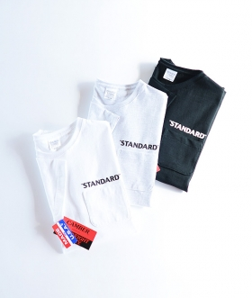 CAMBER×HIGH STANDARD (キャンバー×ハイスタンダード) MAX WEIGHT STANDARD POCKET SS TEE【MENS】