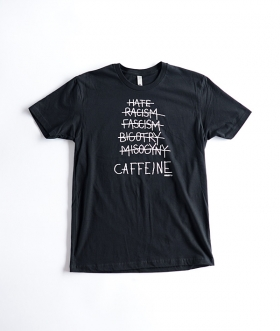 FARLEYS (ファリーズ) CAFFEINE T SHIRTS / HATE RACISM【MENS】