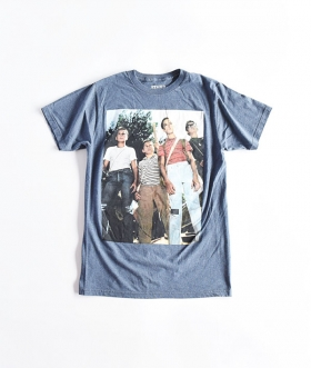 STAND BY ME/STAND OFF MENS LTWT T-SHIRT VINTAGE WASH【MENS】