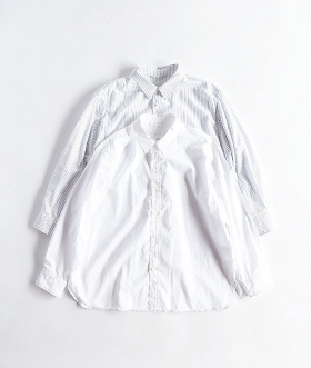 Breechez (ブリーチェズ) BROAD REGULAR COLLAR OVER SHIRT【MENS】