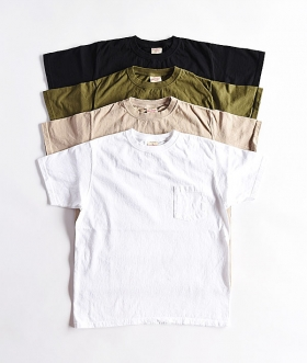 GOODWEAR (グッドウェア) S/S CREW POCKET TEE【MENS】