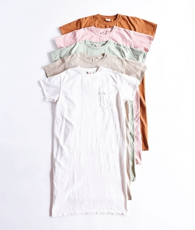 GOODWEAR (グッドウェア) S/S POCKET ONEPIECE LONG【WOMENS】