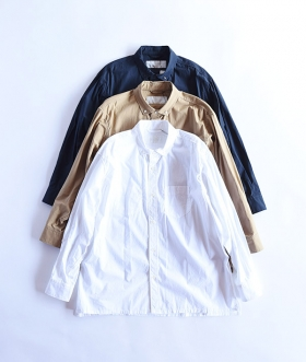 Breechez (ブリーチェズ) TYPEWRITER BD OVER SHIRT【MENS】