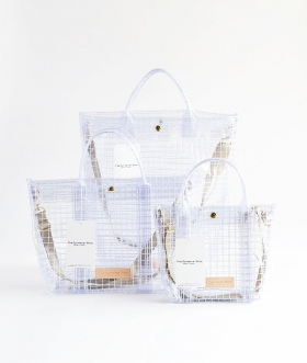 THE CONTAINER SHOP (ザ コンテナショップ) クリアートートバッグ【WOMENS】