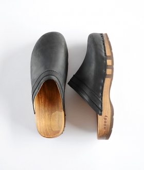 WOODY (ウッディ) HARRY FIT LEATHER CLOG【MENS】