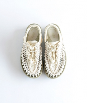 KEEN (キーン) UNEEK ユニーク サンダル WHITECAP / CORNSTALK【WOMENS】