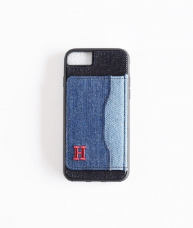 H.R.REMAKE(エイチアールリメイク) I Phone DENIM PATCH STAND CASE【MENS&WOMENS】
