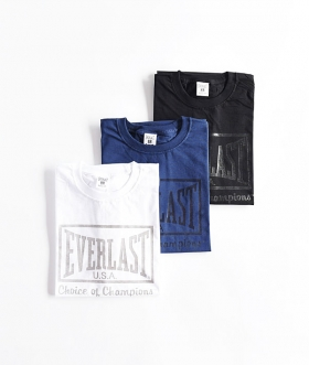 EVERLAST×HRM(エバーラスト×ハリウッドランチマーケット) CHOICE OF CHAMPIONS GEL PRINT T SHIRTS【MENS】
