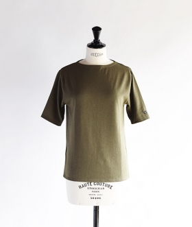 SAINT JAMES (セントジェームス) OUESSANT LIGHT SHORT SLEEVE カーキ【MENS&WOMENS】