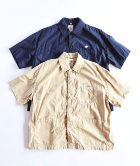 DANTON(ダントン) COTTON POPLIN SS SHIRT JACKET【MENS&WOMENS】