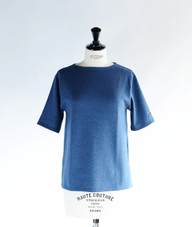 SAINT JAMES (セントジェームス) OUESSANT LIGHT SHORT SLEEVE インディゴ【MENS&WOMENS】