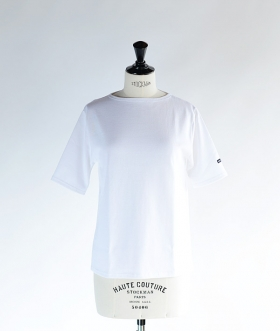 SAINT JAMES (セントジェームス) OUESSANT LIGHT SHORT SLEEVE ホワイト【MENS&WOMENS】
