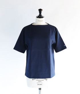 SAINT JAMES (セントジェームス) OUESSANT SHORT SLEEVE SHIRTS ネイビー【MENS&WOMENS】