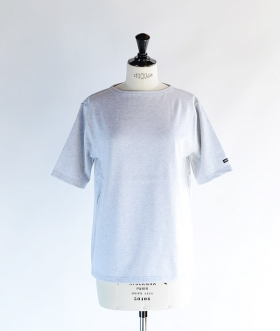 SAINT JAMES (セントジェームス) OUESSANT SHORT SLEEVE SHIRTS ライトグレー【MENS&WOMENS】