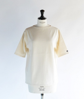 SAINT JAMES (セントジェームス) OUESSANT SHORT SLEEVE SHIRTS エクリュ【MENS&WOMENS】