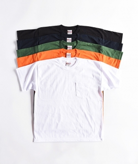 BAYSIDE (ベイサイド) BIG POCKET TEE【MENS&WOMENS】