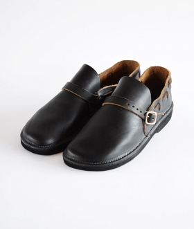 FERNAND LEATHER(フェルナンドレザー) MIDDLE ENGLISH BLACK【MENS】