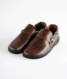 FERNAND LEATHER(フェルナンドレザー) MIDDLE ENGLISH BROWN【MENS】