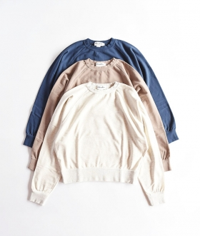 GYMPHLEX(ジムフレックス) MINI FRENCH TERRY クルーネックスウェット【WOMENS】