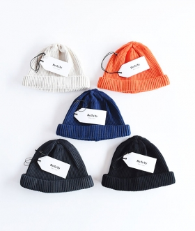 ROTOTO (ロトト) COTTON ROLL UP BEANIE【MENS&WOMENS】