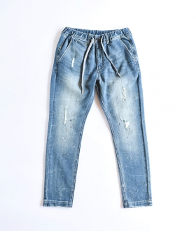 OBLEKT (オブレクト) DENIM TROUSERS【MENS&WOMENS】