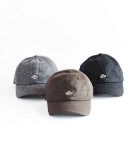 DANTON(ダントン) RECYCLED WOOL 6PANEL CAP【MENS&WOMENS】
