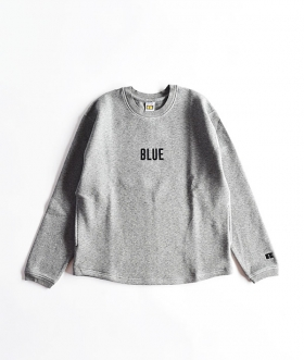RUSSELL×BLUE BLUE(ラッセル×ブルーブルー) DOUBLE KNIT CREW NECK【MENS】
