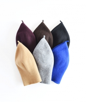 KOPKA(コプカ) WOOLLEN ROLL UP BERET【MENS&WOMENS】