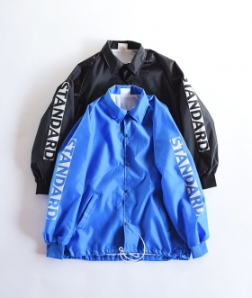 HIGH STANDARD (ハイスタンダード) HIGH VISIBILITY STANDARD COACH JACKET MADE IN USA【MENS】