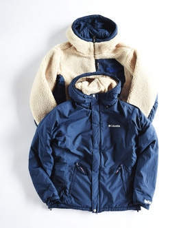 Columbia×BLUE BLUE(コロンビア×ブルーブルー) ROLLING POINT REVERSIBLE JACKET【MENS】