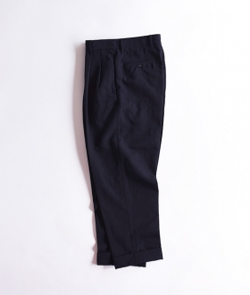 KABEL (カベル) WIDE 2TUCK TAPERED PANTS【MENS】