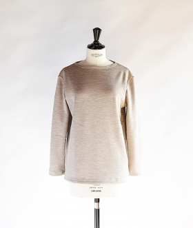 SAINT JAMES (セントジェームス) DOUBLEFACE SWEATER SABLE【MENS&WOMENS】