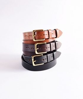 JABEZ CLIFF (ジャベツクリフ) STIRRUP LEATHER BELT【MENS&WOMENS】