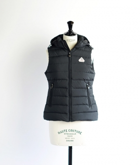 PYRENEX(ピレネックス) SPOUTNIC VEST SMOOTH Black【WOMENS】