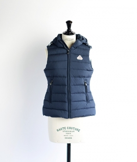 PYRENEX(ピレネックス) SPOUTNIC VEST SMOOTH Navy【WOMENS】