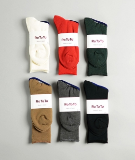 ROTOTO (ロトト) CITY SOCKS【MENS&WOMENS】