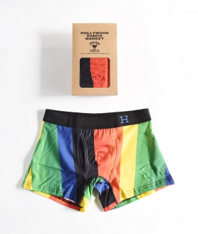 HOLLYWOOD RANCH MARKET(ハリウッドランチマーケット) HRM RAINBOW BOXER BRIEF【MENS】