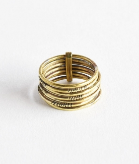 TOUAREG JEWELRY (トゥアレグ ジュエリー) RING 10 BRASS SPECIAL【MENS&WOMENS】